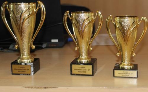 O tyhle poháry se bojovalo v GP.